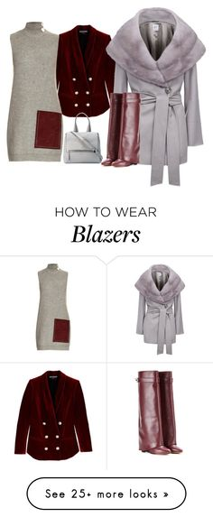 """""""Untitled #860"""" by theranna on Polyvore featuring Balmain, Cinzia Rocca, Edun and Givenchy"""