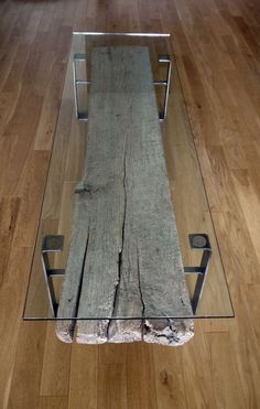 Dinning or coffee table by ticino design ... Idea : Also gives u the possibility to create a table setting decor underneath the glass to fully use the table top !!!