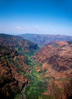 Visit Kokee and Waimea Canyon State Parks Things To Do, Old Things, Waimea Canyon, Hawaiian Islands, White Sand Beach, Kauai, State Parks, Grand Canyon, Cities