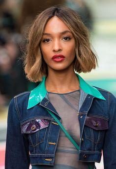 Bob hairstyles: Jourdan Dunn - CosmopolitanUK