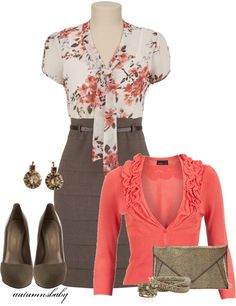 """""""Hope"""" by autumnsbaby on Polyvore. // Like the cardigan color, not nuts about the style. Love the rest."""