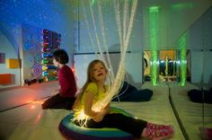This attractive sensory installation was by Starscape customer Opus Pro Audio starscape does some badass lighting for the home, but this product was more interesting. installed in hospitals and institutions to provide sensory stimulation.