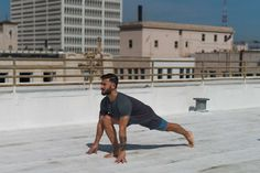 Time to get flexible. Instagram's favourite yogi, Patrick Beach shows you how to really get low.