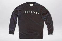 LONG BEACH FELT CREW NECK