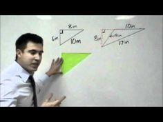 Algebra - Geometry: Area of a Triangle Two Dimensional Shapes, Math Lessons, Algebra, Homeschool, Triangle, Student, Teaching, Education, Youtube