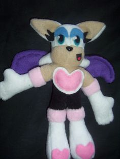 Rouge the bat from Sonic