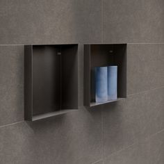 Adding a wall niche creates more storage space. Our Container Series provide you with a collection of bathroom niches to stow all your bathroom items. Bathroom Niche, Shower Niche, Bathroom Interior, Bathroom Ideas, Bathrooms, Shower Soap, Open Plan Living, Luxury Interior Design, Industrial Furniture