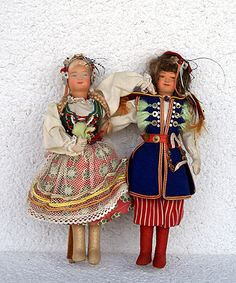 dolls from poland Poland Costume, Polish Recipes, Polish Food, Folk Costume, Costumes, Polish Holidays, Holocaust Survivors, Historical Images, Hand Puppets