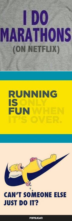 If you're a runner who hates to run, you'll love these!