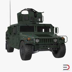 Humvee M1151 3d model