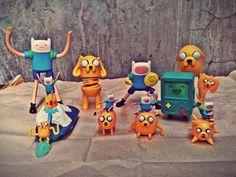 Adventure Time Toys - Jake, Finn, Bmo, Ice King https://loadsofsomething.wordpress.com/