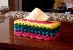 Ravelry: babyykaz's Granny Tissue Box