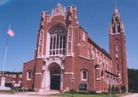 I was baptized in this church: St. Casimir in Hammond, Indiana