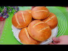 Мы не покупаем хлеб в магазине ! Люблю готовить сама !! - YouTube Hamburger, Bread, Youtube, Food, Bakken, Brot, Essen, Baking, Burgers
