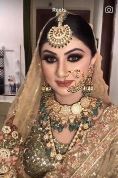 Bridal Makeup Pictures, Bridal Makeup Videos, Best Bridal Makeup, Bridal Makeup Looks, Pakistani Makeup Looks, Pakistani Bridal Makeup, Indian Wedding Makeup, Indian Bridal Makeup, Desi Wedding Dresses