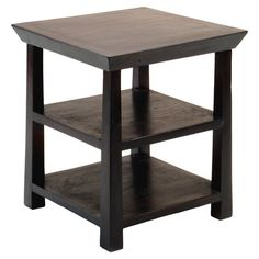 You should see this Rosewood Kishu End Table in Espresso on Daily Sales!