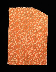 Textile fragment, Russian.  1700-1899.  Linen.  Metropolitan Museum of Art, Brooklyn Museum Costume Collection.