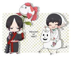 Hoozuki no Reitetsu ~~ Jigoku or Tengeku? I'd like some of both, please. As long as these two are in charge... :: Hoozuki and Hakutaku