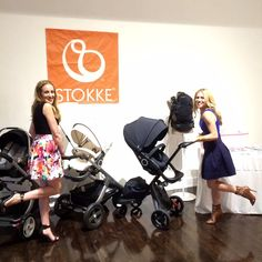 Life is grand when you walk this way <3 A luxe Stokke Stroller line-up at Getting Gorgeous event in NYC July 2015