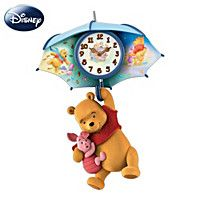 Wall Clock: Pooh And Piglet Blustery Days Wall Clock from Bradford Exchange on Catalog Spree, my personal digital mall. Winnie The Pooh Honey, Winnie The Pooh Nursery, Winne The Pooh, Winnie The Pooh Plush, Winnie The Pooh Friends, Baby Timeline, Disney Snowglobes, Disney Furniture, Cat Clock