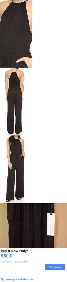 Jumpsuits And Rompers: Cupcakes And Cashmere Abner Jumpsuit | Black | Size Xs BUY IT NOW ONLY: $60.0 #priceabateJumpsuitsAndRompers OR #priceabate