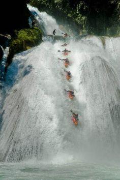 whitewater kayaking off waterfalls 18 Whitewater Kayaking photos by Red Bull (30 Photos)