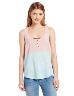 Volcom Juniors Heist Tank Jade Medium *** You can find out more details at the link of the image.