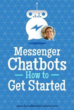 Messenger Chatbots: