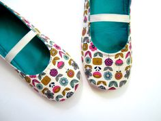Slippers  Pink Blue Khaki Green Navy White and Jade by Molipop, $36.00