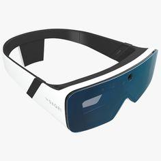 DAQRI - Smart Glasses 3D Model Available to Purchase.   #DAQRI #smart #Glasses #model #models #download #augmented #holo #lens #camera #sensor #head #virtual #reality #safety #construction #digital #mentalray