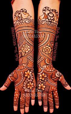 Best 12 this is most beautiful henna pattern for bride – SkillOfKing. Arabic Bridal Mehndi Designs, Wedding Henna Designs, Mehndi Designs Feet, Henna Art Designs, Mehndi Designs 2018, Modern Mehndi Designs, Dulhan Mehndi Designs, Mehndi Design Pictures, Beautiful Mehndi Design
