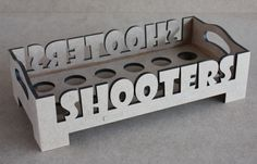 Shooter Tray - Holds 12 glasses