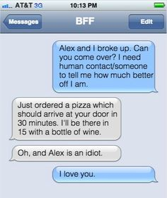 When they're the only person that gets you: | 14 Texts Best Friends With Zero Boundaries Send Each Other