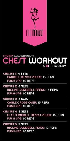 FitMiss Smoking Shoulders Workout Skip the calf raises Chest Workout Women, Chest Workouts, Gym Workouts, At Home Workouts, Chest Exercises, Circuit Exercises, Weekly Workouts, Morning Workouts, Mental Training