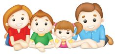 Family - Family Clip Art PNG - family, can stock photo, cartoon, child, daughter Free Preschool, Preschool Activities, Montessori Preschool, Preschool Alphabet, Beach Activities, Clip Art, Cartoon Familie, New Year Printables, Family Clipart