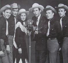 Hank Williams and his band, the Drifting Cowboys.