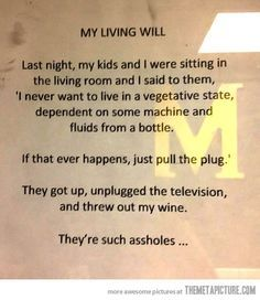 Well played, family. Well played…