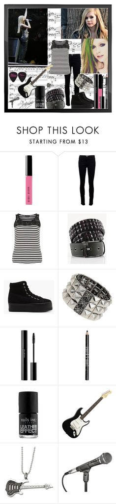"""""""avril lavigne"""" by dgia ❤ liked on Polyvore featuring Bobbi Brown Cosmetics, Riley, J Brand, Dorothy Perkins, Lowlife, Jeffrey Campbell, Wallis, shu uemura, Lord & Berry and Nails Inc."""