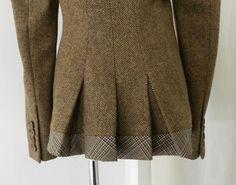 Alexander McQueen Brown Wool Riding Jacket image 6