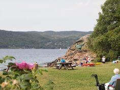 Fiordo de Oslo: En bicicleta a tu aire - Camino En Bici Fiordo De Oslo, Dolores Park, Travel, Forests, Norway, Log Homes, Drive Way, Bicycles, Scenery