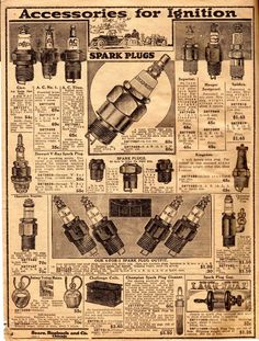 Model T Ford Forum: Circa. 1919 Sears Auto Parts catalog/leaflet (entire catalog) Auto Parts Catalog, Car Parts, Vintage World Maps, Ford, Hacks, Model, Autos, Scale Model, Tips