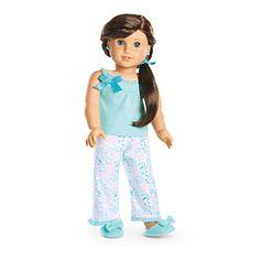 Grace pajamas - Girl of the year 2015 - American girl goty