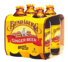 OMG, I'd almost completely forgotten about Bundaberg Ginger Beer... the origin of my ginger obsession! New mission: find some Bundaberg, kill it, and bring it home to my fridge.