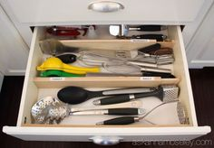 how to organize kitchen utensils in 30 min or less, how to, kitchen design, organizing