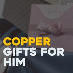 Copper Gifts, 7th Anniversary, Gifts For Him, Logos, Logo, Legos