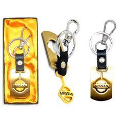 Port clé avec logo Nissan  GOLD