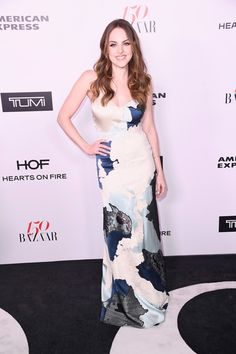 Elizabeth Gillies attends Harper's BAZAAR celebration of the 150 Most Fashionable Women presented by TUMI in partnership with American Express, La Perla and Hearts On Fire at Sunset Tower Hotel on January 27, 2017 in West Hollywood, California.