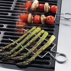 Double Raft Stainless-Steel Grill Skewers at Sur La Table