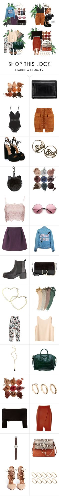 """""""Touch LM"""" by voidjesy ❤ liked on Polyvore featuring Balmain, WithChic, Aquazzura, Joyrich, Topshop, Gyunel, High Heels Suicide, Chloé, Thalia Sodi and Gucci"""