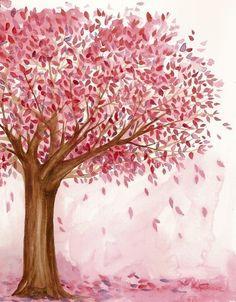 Porque hay que seguir viendo la vida de color de rosa... Aunque a veces nos dejemos hojas en el camino...
